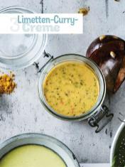 Rezept - Limetten-Curry-Creme - Simply Kochen Sonderheft - Frühlingssalate