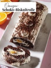 Rezept - Orangen-Schoko-Biskuitrolle - Simply Kreativ Extra – Leckere Ideen für den Thermomix® 02/2019