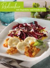 Rezept - Radicchio mit Ziegenkäse und Frucht-Salsa - Simply Kreativ Extra – Leckere Ideen für den Thermomix® 02/2019