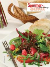 Rezept - Sommer-Salat mit Himbeerdressing - Simply Kochen Sonderheft - Frühlingssalate