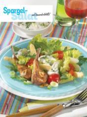 Rezept - Spargel-Salat mit Lammkoteletts - Simply Kochen Sonderheft - Frühlingssalate