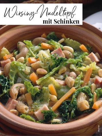 Rezept - Wirsing-Nudeltopf mit Schinken - Simply Kreativ Extra – Leckere Ideen für den Thermomix® 02/2019