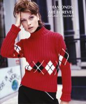 Strickanleitung - Diamonds are Forever - Argyle-Pullover - Designer Knitting 02/2019