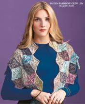Strickanleitung - In den Farbtopf gefallen - Hexagon-Tuch - Designer Knitting 02/2019
