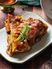 Rezept - Auberginen-Gratin mit Mozzarella - Bewusst Low Carb