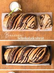 Rezept - Bananen-Schokoladenbrot - Simply Backen Sonderheft – Brote und Brötchen mit dem Thermomix® 02/2019