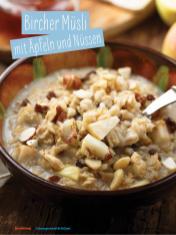 Rezept - Bircher-Müsli mit Äpfeln und Nüssen - Simply Kochen Sonderheft - Ernährung in der Schwangerschaft - mit Nina Kämpf von Mamaaempf