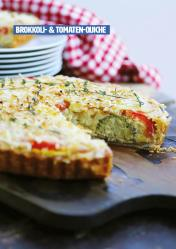 Rezept - Brokkoli-Tomaten-Quiche - Healthy Vegan 03/2019