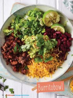 Rezept - Burritobowl - Simply Kochen Sonderheft - Ernährung in der Schwangerschaft - mit Nina Kämpf von Mamaaempf