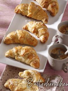 Rezept - Butterhörnchen - Simply Backen Sonderheft – Brote und Brötchen mit dem Thermomix® 02/2019