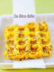 Rezept - Chia-Möhren-Waffeln - Bewusst Low Carb Sonderheft Keto