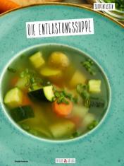 Rezept - Die Entlastungssuppe - Simply Kochen Sonderheft Basenfasten mit Andrea Sokol