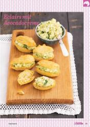 Rezept - Eclairs mit Avocadocreme - Das große Backen 03/2019