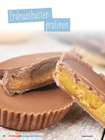Rezept - Erdnussbutter-Pralinen - Simply Kochen Sonderheft - Ernährung in der Schwangerschaft - mit Nina Kämpf von Mamaaempf