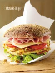 Rezept - Frühstücks-Burger - Bewusst Low Carb Sonderheft Keto