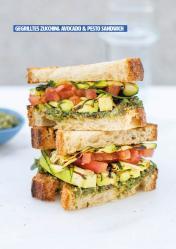 Rezept - Gegrilltes Zucchini-Avocado-Pesto - Healthy Vegan 03/2019