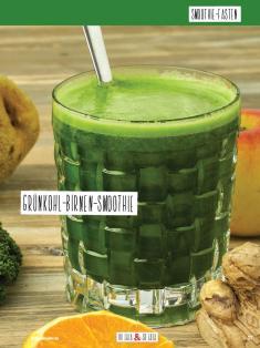 Rezept - Grünkohl-Birnen-Smoothie - Simply Kochen Sonderheft Basenfasten mit Andrea Sokol