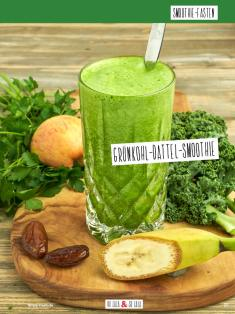 Rezept - Grünkohl-Dattel-Smoothie - Simply Kochen Sonderheft Basenfasten mit Andrea Sokol