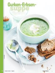 Rezept - Gurken-Erbsen-Suppe - Simply Kochen Sonderheft - Suppen und Eintöpfe - 01/2019