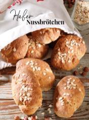 Rezept - Hafer-Nussbrötchen - Simply Backen Sonderheft – Brote und Brötchen mit dem Thermomix® 02/2019