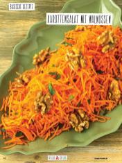 Rezept - Karottensalat mit Walnüssen - Simply Kochen Sonderheft Basenfasten mit Andrea Sokol