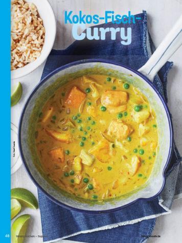 Rezept - Kokos-Fisch-Curry - Simply Kochen Sonderheft - Suppen und Eintöpfe - 01/2019