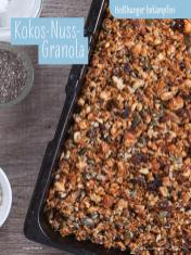 Rezept - Kokos-Nuss-Granola - Simply Kochen Sonderheft - Ernährung in der Schwangerschaft - mit Nina Kämpf von Mamaaempf