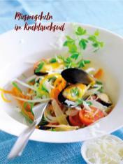 Rezept - Miesmuscheln im Knoblauchsud - Bewusst Low Carb – 04/2019