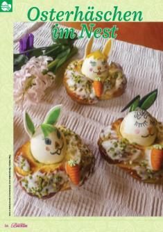 Rezept - Osterhäschen im Nest - Das große Backen 03/2019