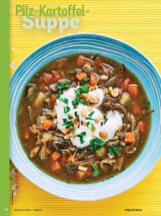 Rezept - Pilz-Kartoffel-Suppe - Simply Kochen Sonderheft - Suppen und Eintöpfe - 01/2019