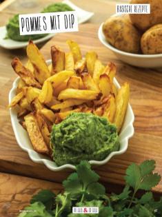 Rezept - Pommes mit Dip - Simply Kochen Sonderheft Basenfasten mit Andrea Sokol