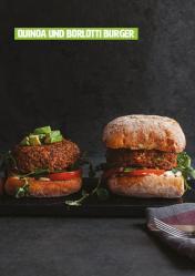 Rezept - Quinoa und Borlotti-Burger - Healthy Vegan 04/2019