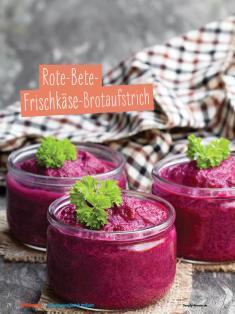 Rezept - Rote-Bete-Frischkäse-Brotaufstrich - Simply Kochen Sonderheft - Ernährung in der Schwangerschaft - mit Nina Kämpf von Mamaaempf
