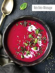 Rezept - Rote-Bete-Minzsuppe - Bewusst Low Carb