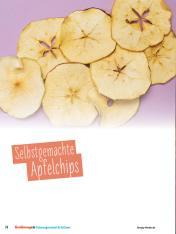 Rezept - Selbstgemachte Apfelchips - Simply Kochen Sonderheft - Ernährung in der Schwangerschaft - mit Nina Kämpf von Mamaaempf