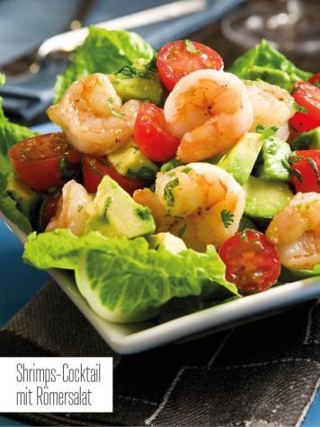 Rezept - Shrimps-Cocktail mit Römersalat - Bewusst Low Carb