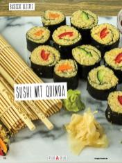Rezept - Sushi mit Quinoa - Simply Kochen Sonderheft Basenfasten mit Andrea Sokol