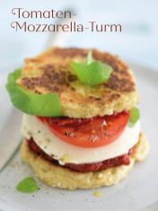 Rezept - Tomaten-Mozzarella-Turm - Bewusst Low Carb Sonderheft Keto