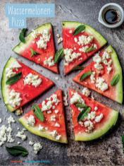 Rezept - Wassermelonen-Pizza - Simply Kochen Sonderheft - Ernährung in der Schwangerschaft - mit Nina Kämpf von Mamaaempf