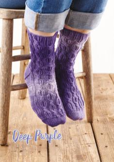 Strickanleitung - Deep Purple - Simply Stricken 03/2019