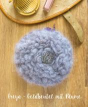 Häkelanleitung - Freya - Geldbeutel mit Blume - Mini Taschen und Etuis Häkeln Vol. 8 – 03/2019