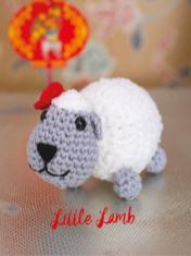 Häkelanleitung - Little Lamb - Best of Simply Häkeln Amigurumi Vol. 3