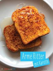 Rezept - Arme Ritter mit Karotte - Simply Kochen mit und für Kinder - mit Nina Kämpf von Mamaaempf