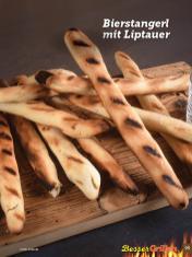 Rezept - Bierstangerl mit Liptauer - Simply Kochen Sonderheft Besser Grillen mit den Grillweltmeisten
