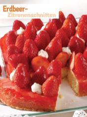 Rezept - Erdbeer-Zitronenschnitten - Simply Kochen Sonderheft So schmeckt der Frühling