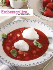 Rezept - Erdbeergrütze mit Schneeklößchen - Simply Kochen Sonderheft So schmeckt der Frühling