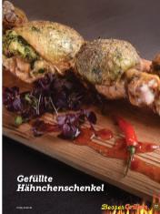 Rezept - Gefüllte Hähnchenschenkel - Simply Kochen Sonderheft Besser Grillen mit den Grillweltmeisten