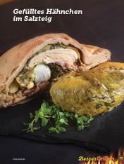 Rezept - Gefülltes Hähnchen im Salzteig - Simply Kochen Sonderheft Besser Grillen mit den Grillweltmeisten