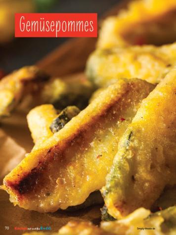 Rezept - Gemüsepommes - Simply Kochen mit und für Kinder - mit Nina Kämpf von Mamaaempf