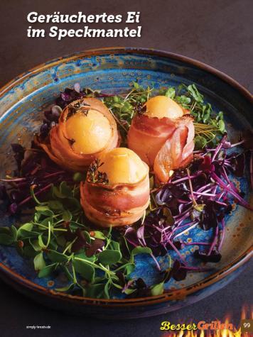 Rezept - Geräuchertes Ei im Speckmantel - Simply Kochen Sonderheft Besser Grillen mit den Grillweltmeisten